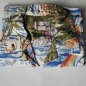 Vintage Ryen Spooner Hawaiian Shirt